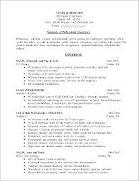Jewelry Sales Resume Fascinating Example Resume For Jewelry Sales Associate Fruityidea Resume
