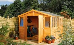shed with patio floor