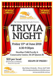 Trivia Night Flyer Updated Sector Connect