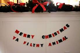 i made this simple diy felt letter garland using only 4 sheets of felt well under 2 worth i also used a sewing machine and white thread though you could