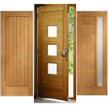 external contemporary oak doors