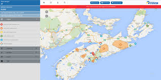 about the map  nova scotia power