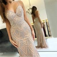 Dubai New <b>Luxury</b> Sexy Sleeveless Evening Dresses <b>Mermaid</b>...