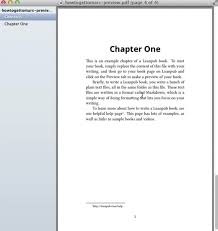 how to from scratch leanpub next we re going to show you how to make some changes to your preview we ll show you how to insert a cover image how to edit the text in chapter one