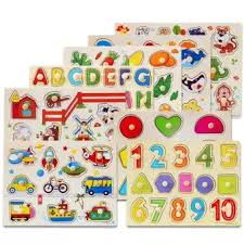 Baby Learning Chart Educational Toy Baby Toys Birthday Present Christmas Present Wooden Alphabet Chart And Wooden Numbers 0 20 Educational Learning Fun Game For Kids
