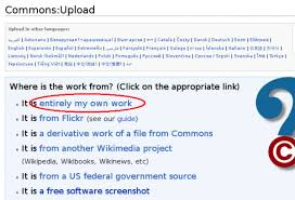 Wiki Upload File Chapter Uploading Your First File Wikimedia Commons
