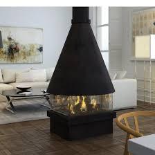ortal ortal island 80 modern conus gas fireplace