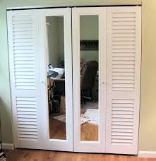 mirrored bifold closet doors bifold mirrored wardrobe doors uk