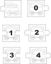 Classe Prima Matematica Giochi Puzzle Numeri Fino Al 10