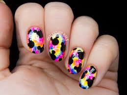 Trippy Mickeys Nail Art   Chalkboard Nails