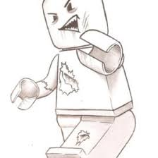 Lego Zombie By Mikimusprime On Deviantart Lego Zombie Coloring Page