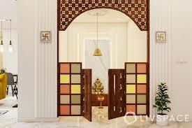 inspiring pooja room door designs for