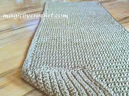 diy burlap area rug furniture jute faux sisal likable ideas how to