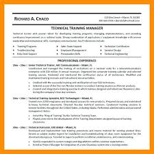 Technical Trainer Resume Technical Trainer Resume Personal Training Resume No Experience
