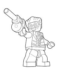 Find more the joker coloring. Lego Joker Color Page Lego Dc Super Villains The Brick Show