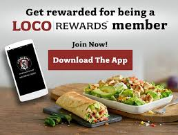 get rewarded for being a loco rewards member join now