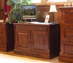 Hidden Printer Cabinet Chateau Mahogany Hidden Home Office Computer Desk