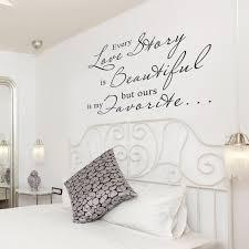 love story wall quotes romantic vinyl