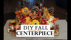 how to make a fall centerpiece dollar tree decor you