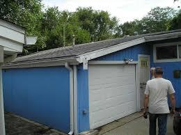 part carport turned into garage how to enclose a metal carport