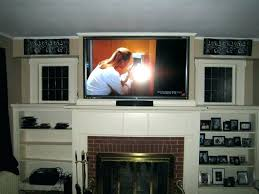 mounting tv on brick fireplace hang above fireplace mounting plasma brick fireplace installing tv wall mount