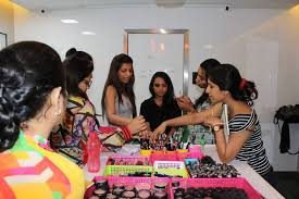 makeup artistry artists students practicing shah hair bookings jharnashah professional artist courses week
