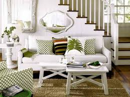 White Furniture Decorating Living Room Apartment Decorating College Relaxed Coastal Living Room Ih