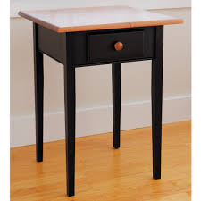end tables designs shaker end table square shape wooden material for black end table small black