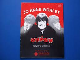 Civic Light Opera Jo Anne Worley In Gypsy February 25 March