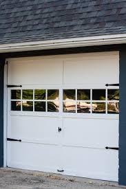 garage barn doorsGarage Door Makeover  The Lilypad Cottage