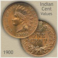Wheat Penny Value Chart 1800 To 1959 1900 Indian Head Penny Value Discover Their Worth
