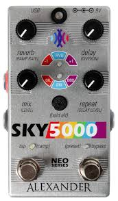 Alexander Pedals Sky5000 | The Effect Factory