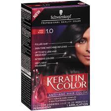 Schwarzkopf Keratin Color Anti Age Hair Color Cream 1 0