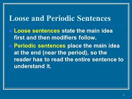 Periodic sentences othmars trombone