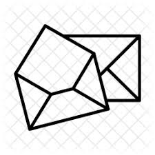 Email Icon of Line style - Available in SVG, PNG, EPS, AI & Icon fonts