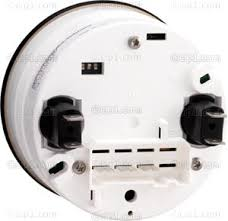 vdo 333 051 333051 black face cockpit tachometer 7000 rpm 3 1 8