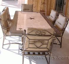custom made texas patio dining tables