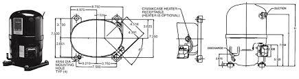 bristol reciprocating compressors t series
