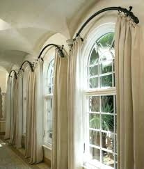 double curved shower rod double curtain rod set target double rod curtains images double curved shower