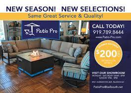 Patio pro patio furniture