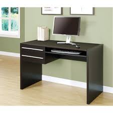 Adorable Simple Computer Desk For Your Workspace Ideas: Light Wood Floors  With Simple Computer Desk
