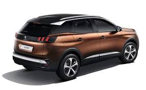 2018 peugeot 3008 review. interesting 2018 2018 peugeot 3008 rear view in peugeot review