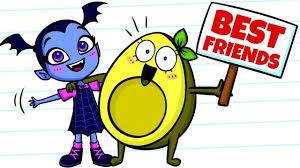 virina vegetables best friends cartoons