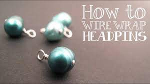 how to wire wrap a headpin video