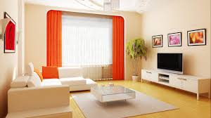 Warm Color For Living Room Simple Living Room Ideas With Minimalist Furniture And Warm Color