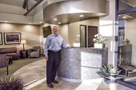 dental office design. Designing For The Future: Dr. John F. Dahm Stands In His Hutchinson, Kansas, Dental Office, Which Won Office Design Of Year\u2014Small Practice.