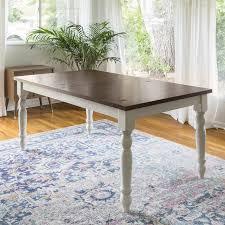 bay isle home hodslavice solid wood turned leg extendable dining regarding table decor 0