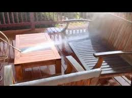 teak patio furniture cleaning and