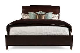 Skyline Bedroom Furniture Hooker Skyline Platform Sleigh Bed Mathis Brothers Furniture