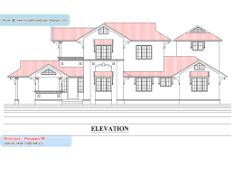 House Plans With Multiple Elevations House Plans   Woodworking    plan and elevation Sq Ft Kerala home design and floor plans